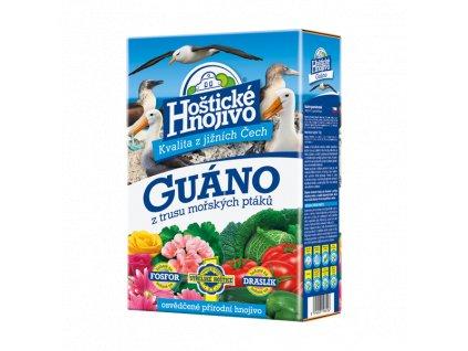 Hoštické guáno - granulované hnojivo 1 kg