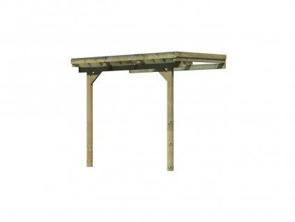 Dřevěná pergola KARIBU ECO 1A (64620)