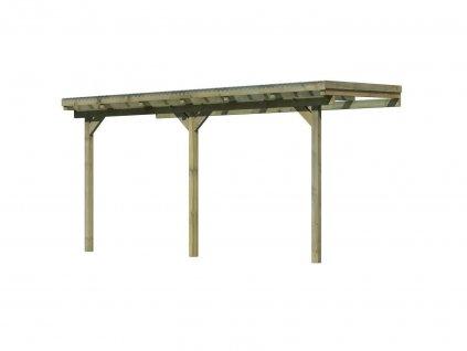 Dřevěná pergola KARIBU ECO 1B (64648)