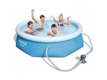 Bazén BESTWAY Fast Set 2,44 x 0,66 m - 57268