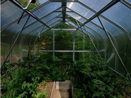 Zahradní skleník Gardentec Standard 4 x 2,5 m