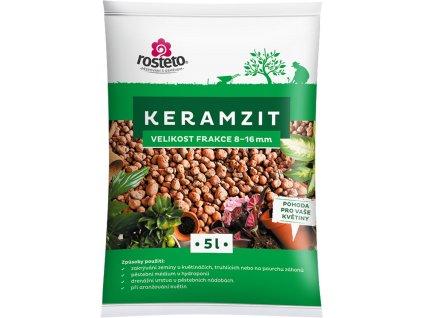 Keramzit Rosteto - 5 l  8-16 mm