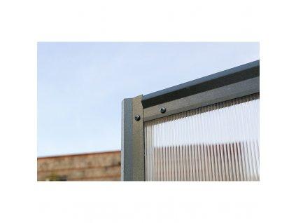 Zahradní skleník Volya LLC DVUSHKA 4 mm, 4 x 2 m