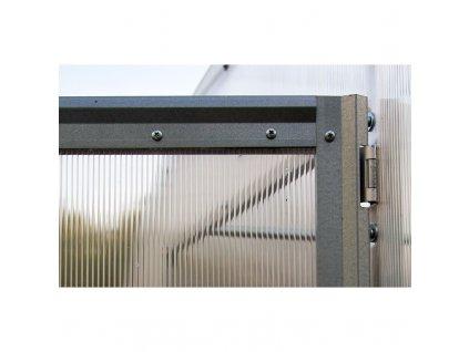 Zahradní skleník Volya LLC DVUSHKA 4 mm, 8 x 2 m