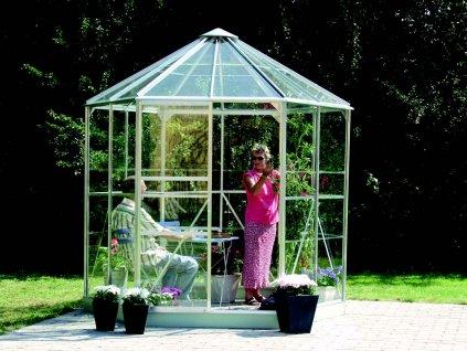 Zahradní pavilon Vitavia HERA 4500 stříbrný