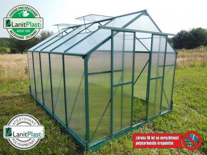 sklenik-LANITPLAST-PLUGIN-8x12-zelený-image
