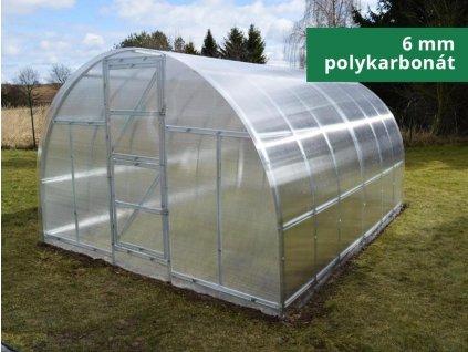 Zahradní skleník Lanitplast KYKLOP 6mm