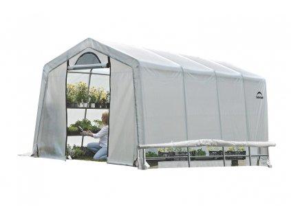 plachtovy sklenik shelterlogic 3 0 x 6 1 m 35 mm