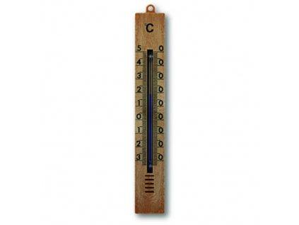 Teploměr venkovní 18 cm hnědý