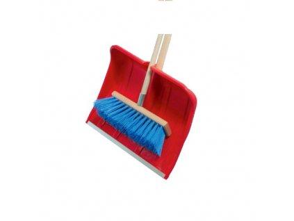 hrablo CLEAN PH 49x36cm + smeták chodníkový 40x170cm