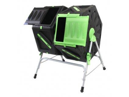 Komposter-bubnový-dvoukomorový-2-x-105-l