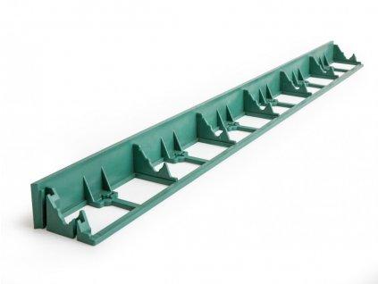 Neviditelný obrubník 45 mm zelený