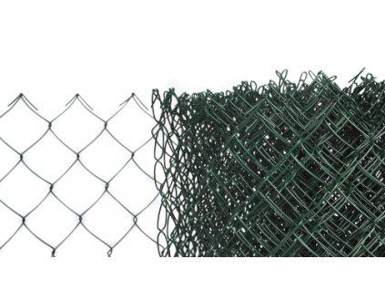 Pletivo poplastované výška 150cm bez ND (2,5mm;60x60mm;PVC; zelené)