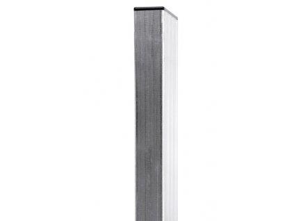 Sloupek 60x40mm Zn 160 cm - žárový zinek