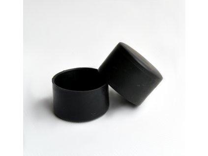 Čepička PVC 38 mm - černá