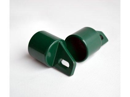 Koncovka na rozpěru Al + PVC 38mm zelená