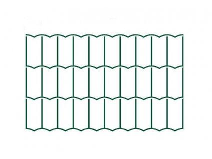 Svařované pletivo Hortaplast - drát 2,5 mm, oko 50x100 mm, výška 80 cm