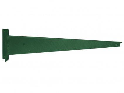 Bavolet Zn+PVC na křídlo branky-brány rovný levý