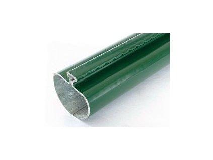 Sloupek s prolisem PVC, zelený, 48 mm, výška 200 cm