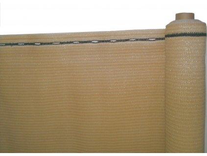 Stínící tkanina, zastínění 90%, výška 180 cm, písková
