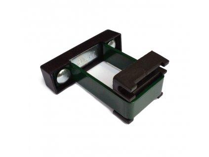 Příchytka panelu U na sl. 60x40 PVC, zelená SAFETY