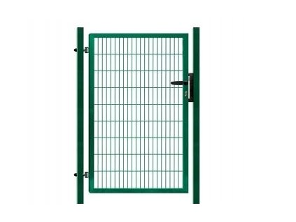 Branka výplň svařovaný panel 2D, výška 100x100 cm FAB zelená
