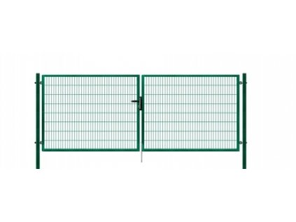 Brána výplň svařovaný panel 2D, výška 100x400 cm FAB zelená