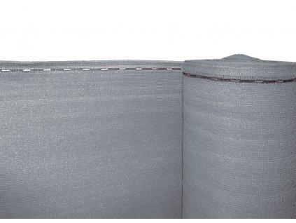 Stínící tkanina, zastínění 90%, výška 150 cm, šedá
