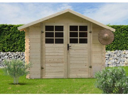 zahradní domek LANITPLAST PETR 344 x 205 cm