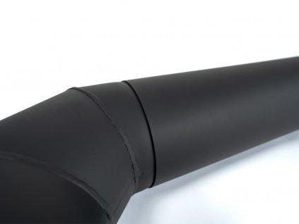roura kouřová 145 mm/ 500 t.1,5 mm ČER