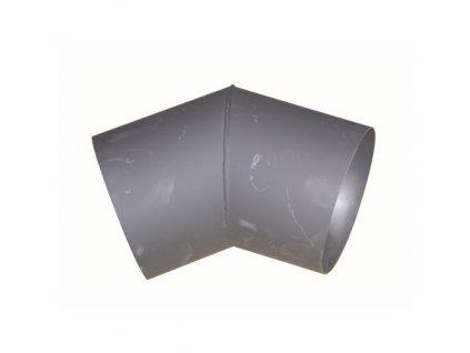 koleno kouřové 125 mm/45st.t.1,5 mm ČER