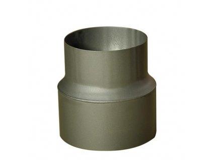 redukce trubková 200/150 mm (d.160 mm) t.1,5 mm ČER