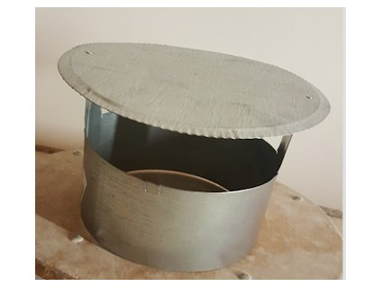 stříška komínová 180 mm Zn