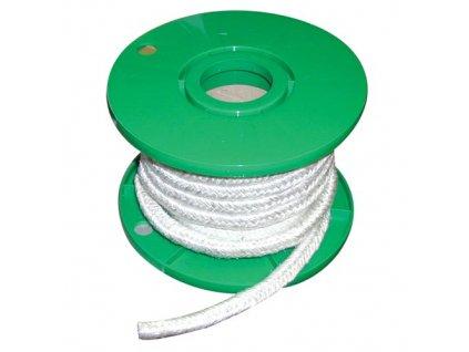 šňůra izolační 10 x 10 mm (500°C) ISOTEM 10 (cca 12m)