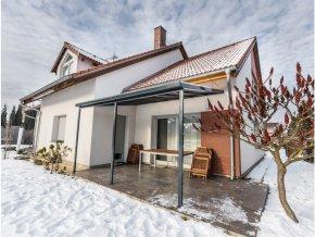 Terrassendach original 5,46 x 4,06 m - antracit  + Prodloužená záruka 10 let