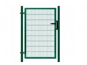 Branka výplň svařovaný panel 2D, výška 140x100 cm FAB zelená