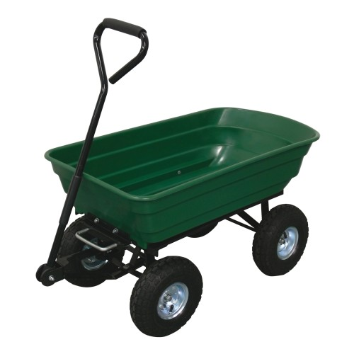 vozík zahradní sklápěcí 70l, korba 94x51x21cm