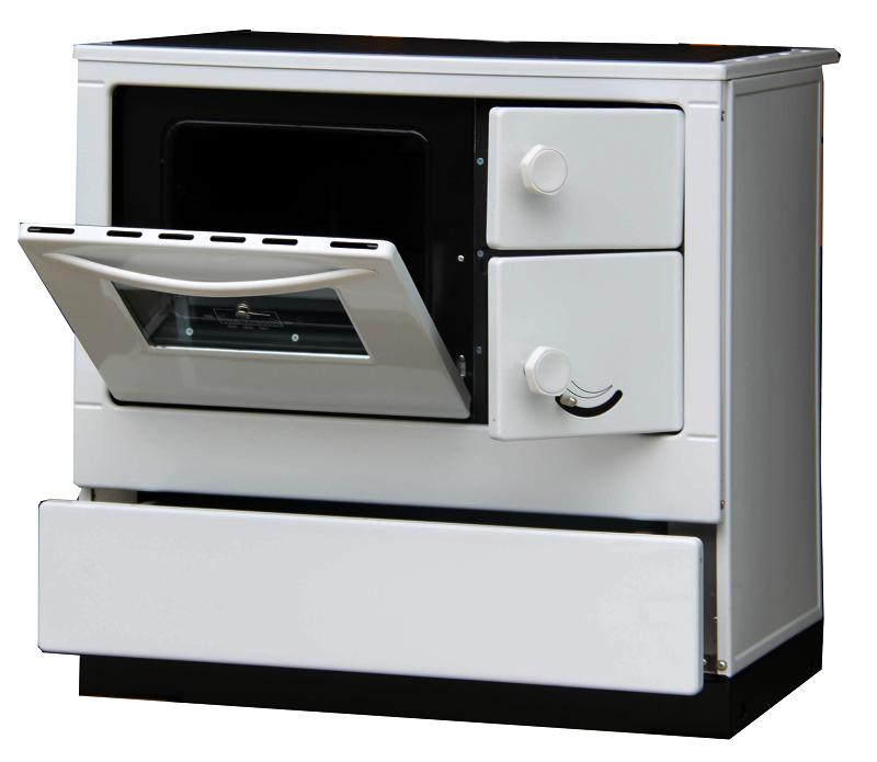 Thorma OKONOM 85 De Luxe AQUA s výměníkem levý bílá