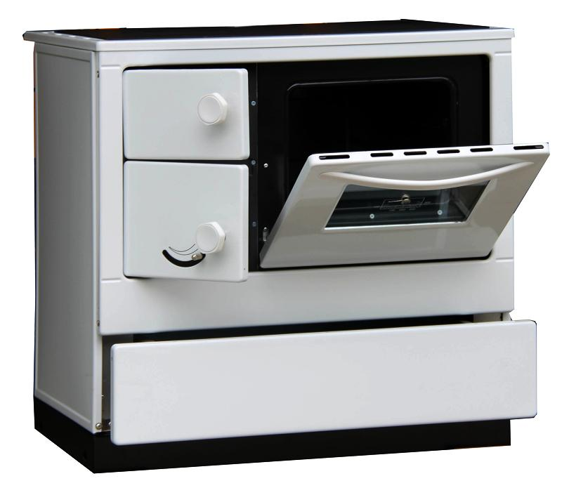 Thorma OKONOM 85 De Luxe AQUA s výměníkem pravý bílá