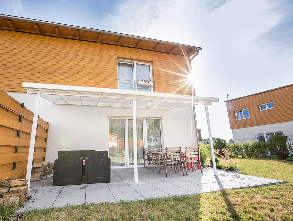 Gutta Terrassendach original 3,06 x 4,06 m - bílá