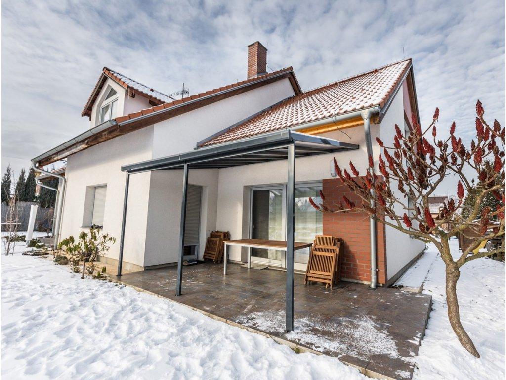 Gutta Terrassendach original 5,46 x 4,06 m - antracit