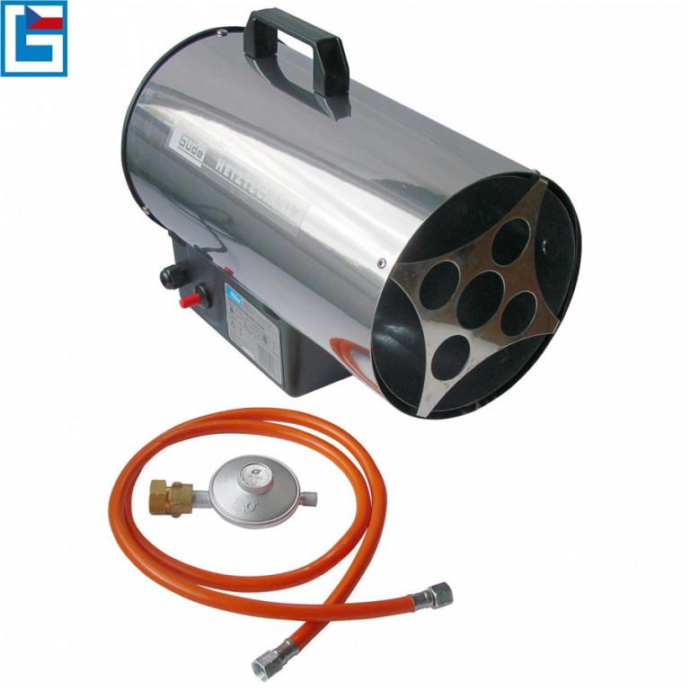 Horkovzdušné plynové topidlo GÜDE 10kW GGH 10 INOX - GU85005