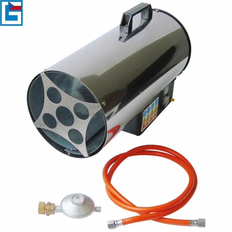 Horkovzdušné plynové topidlo GÜDE 17kW GGH 17 INOX - GU85006