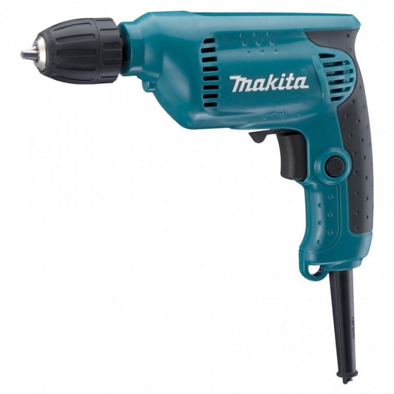Elektrická vrtačka MAKITA 450W s rychlosklíčidlem 1,5-10mm - 6413