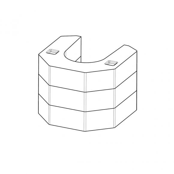 Akumulační sada AKKUM 02 pro krbová kamna Romotop