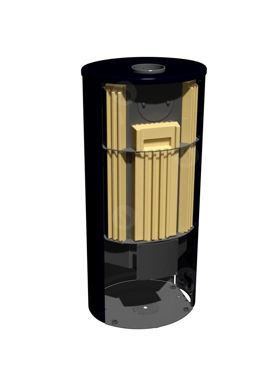 Akumulační sada pro krbová kamna Romotop LUGO
