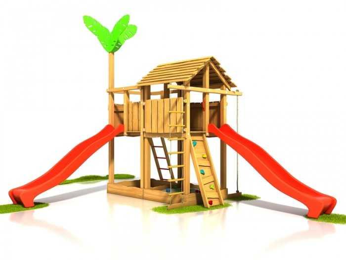 Palis Gym Dřevěné dětské hřiště - Stavebnice hřiště Čikita