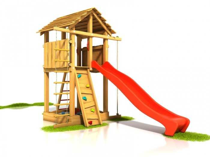 Palis Gym Dřevěné dětské hřiště - Stavebnice hřiště Bimbo
