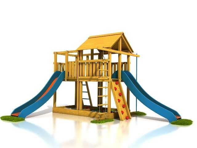 Palis Gym Dřevěné dětské hřiště - Stavebnice hřiště Tomáš