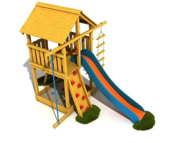 Palis Gym Dřevěné dětské hřiště - Stavebnice hřiště Honzík
